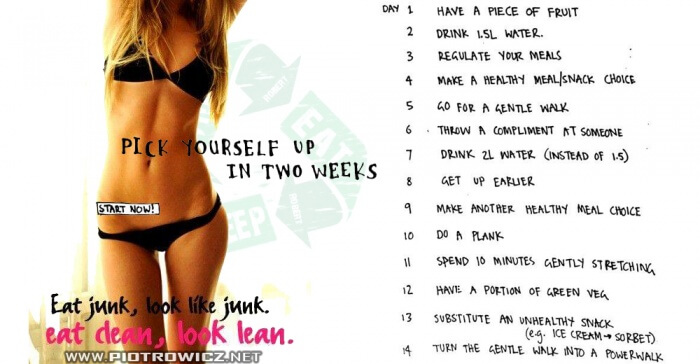 Pick Yourself Up In Two Weeks - Healthy Fitness Tips Ab Exercise