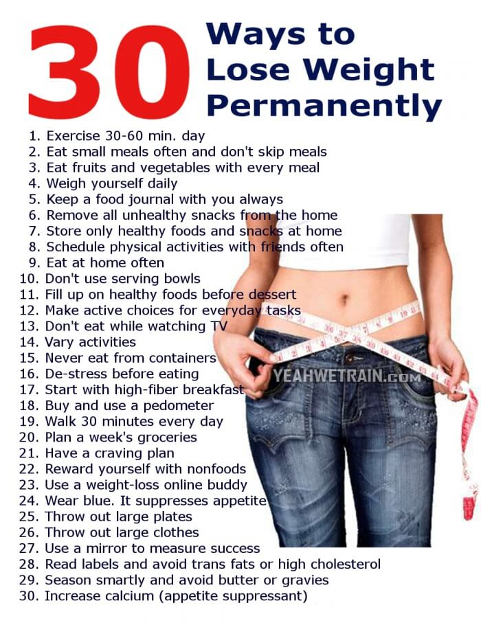 30 Ways To Lose Weight Permanently Healthy Fitness Workout Abs