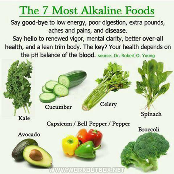 The 7 Most Alkaline Foods - High Energy Healthy Fitness Eating