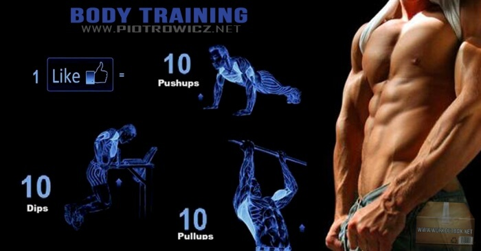 Body Training Challenge - Fitness Workouts Tips PushUp PullUp Ab