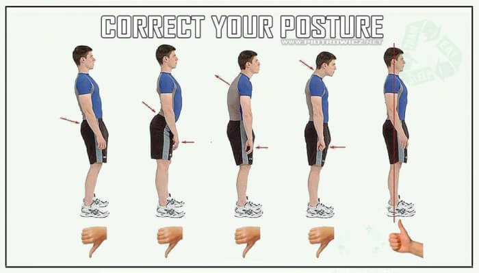 Correct Your Posture! Healthy Workout Tips Tricks Training Back