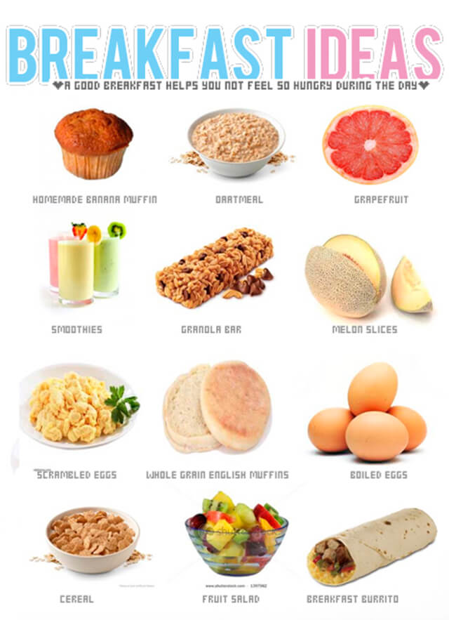 Sexy breakfast ideas