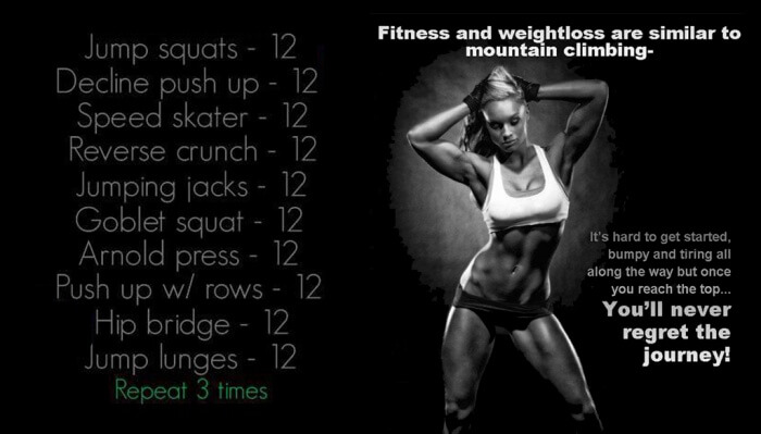 Fat Burning Workout - Fitness And Weightloss Are Similar Sixpack