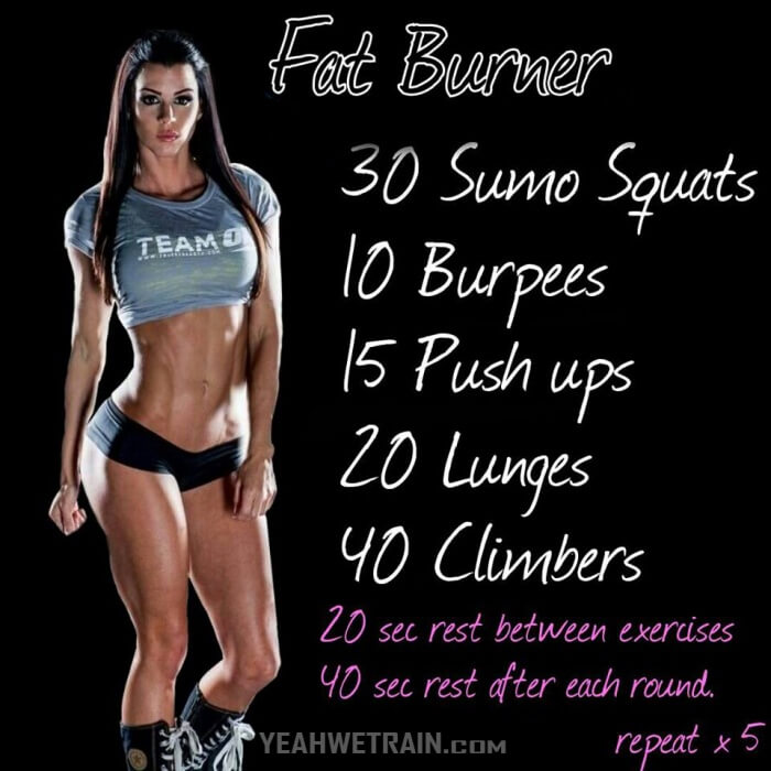 Fat Burner Workout - Fitness Training For Kill Your Body-Fat Abs