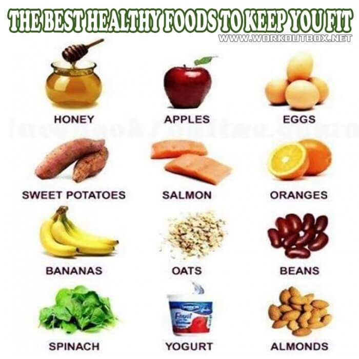 The Best Healthy Foods To Keep You Fit ! Healthy Fitness Tips Ab