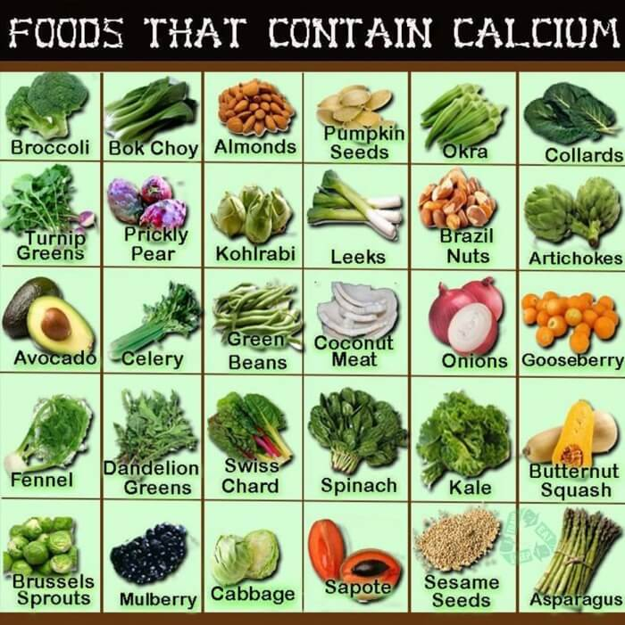 Foods That Contain Calcium - Healthy Fitness Recipes Tips Food