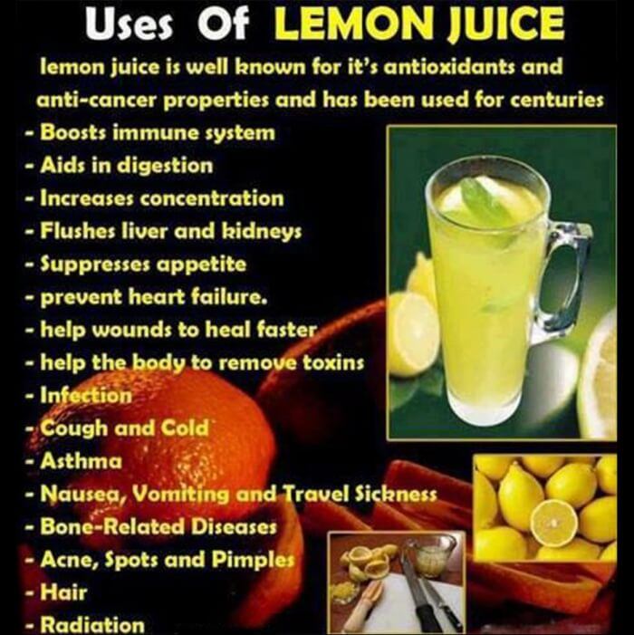 Uses Of Lemon Juice - Benefit Lemongrass Warm Water Citrus Cold