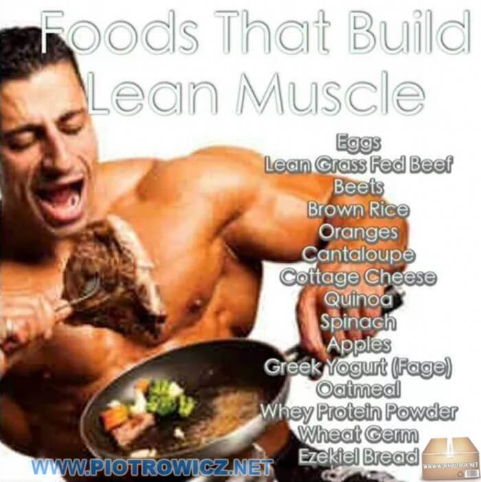 Foods That Build Lean Muscle ! Top Foods To Strong And Big Body