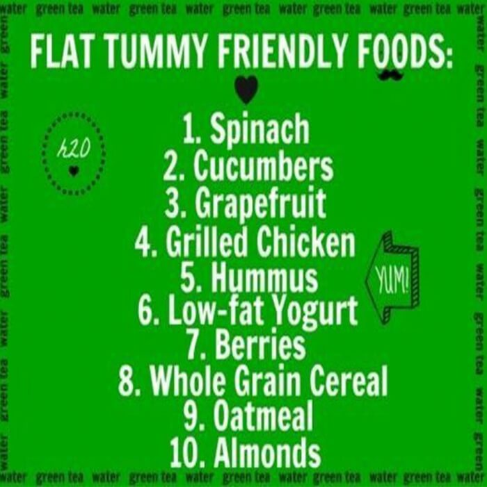 Flat Tummy Friendly Foods - Healthy Fitness Tips Tricks Plan Abs