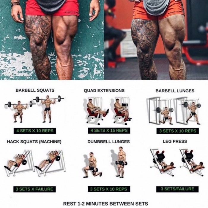Amazing Leg Day Workout Plan! Stronger Legs in 4 Weeks